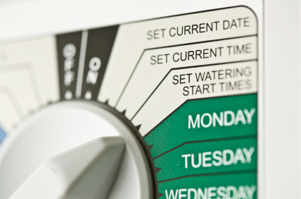 Reset Your Sprinkler's Timer to Coincide with Daylight Savings Time 2011